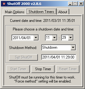 ShutOff 2000 - Screen 2