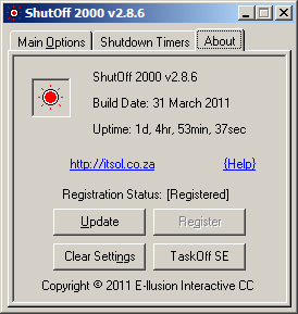 ShutOff 2000 - Screen 3